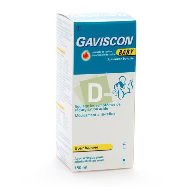 Gaviscon Baby Sirop 150 ml : Contre le reflux gastrique