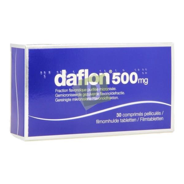 Daflon 500 mg x 30 Comprimés