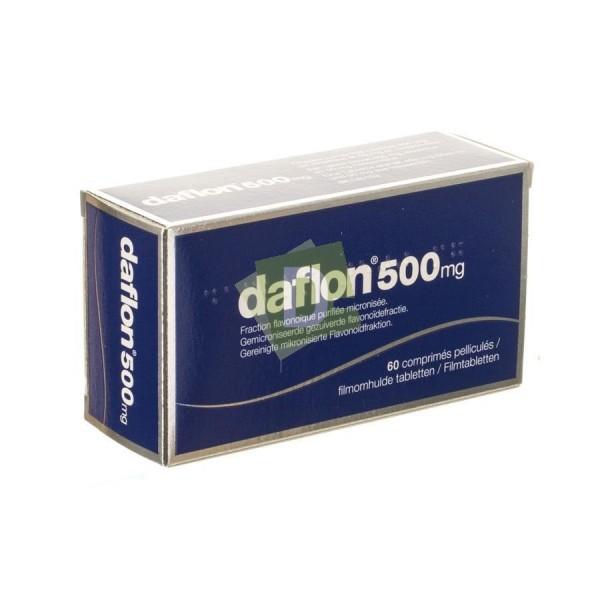 Daflon 500 mg x 60 Comprimés
