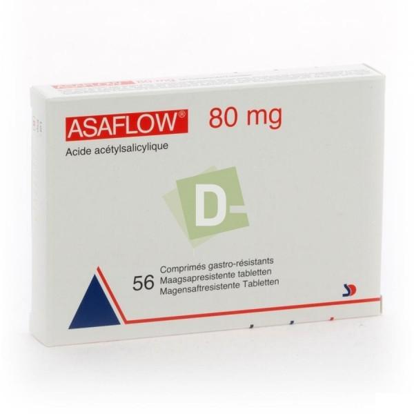 Asaflow 80 mg x 56 Comprimés