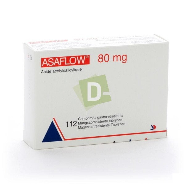 Asaflow 80 mg x 112 Tablets
