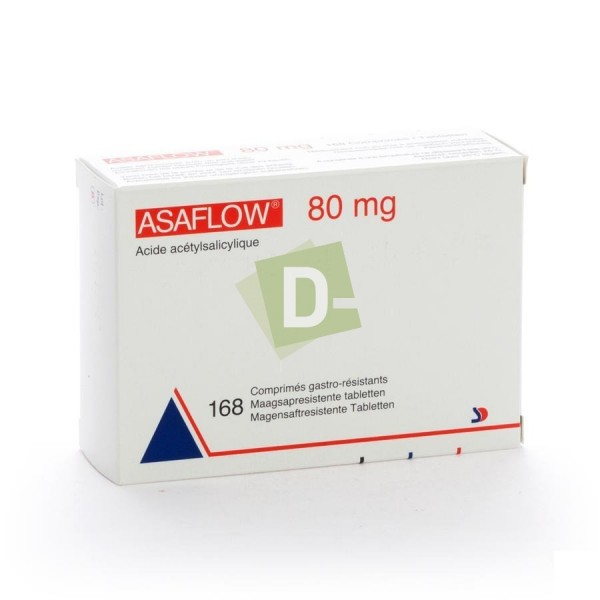 Asaflow 80 mg x 168 Tablets