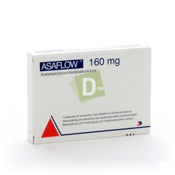 Asaflow 160 mg x 56 Comprimés : Traitement et prévention des affections cardiovasculaires