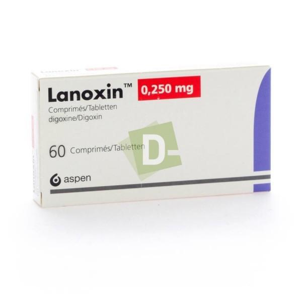 Lanoxin 0,250 mg x 60 Comprimés