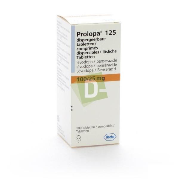 Prolopa 125 mg x 100 Comprimés