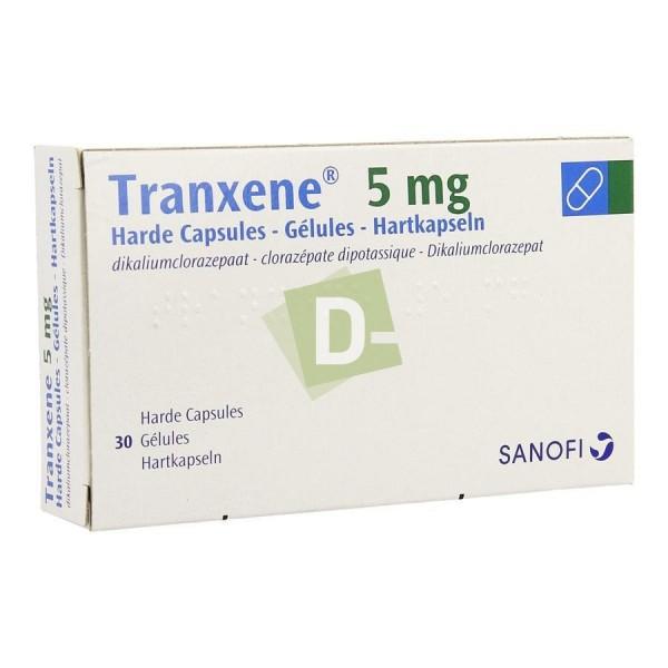 Tranxene 5 mg x 30 Gélules