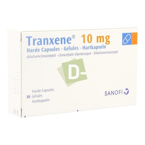 Tranxene 10 mg x 30 Gélules
