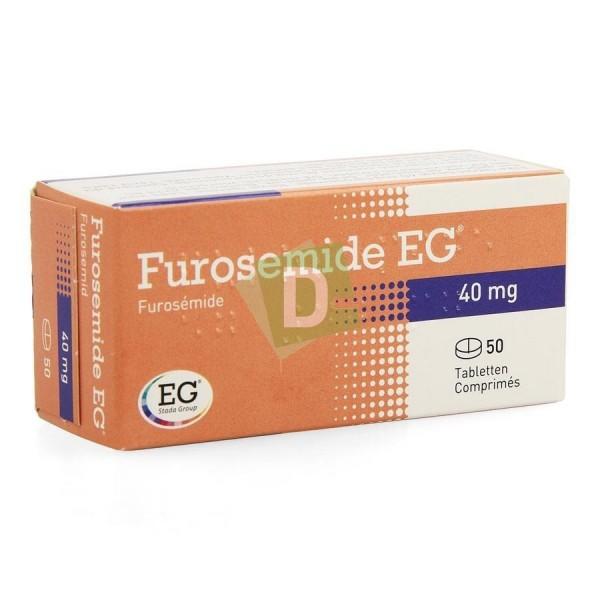 Furosemide EG 40 mg x 50 Tablets