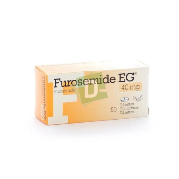Furosemide EG 40 mg x 50 Comprimés