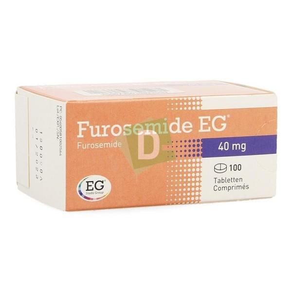 Furosemide EG 40 mg x 100 Tablets