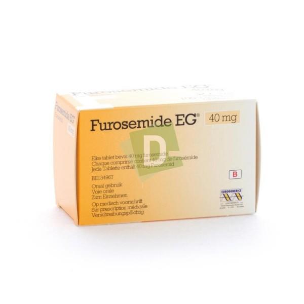 Furosemide EG 40 mg x 100 Comprimés
