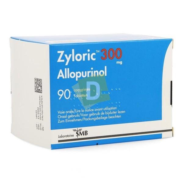 Zyloric 300 mg x 90 Comprimés
