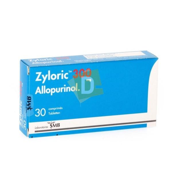 Zyloric 300 mg x 30 Comprimés