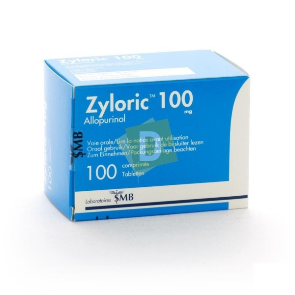 Zyloric (Allopurinol) 100 mg x 100 Tablets