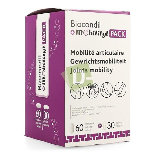 Biocondil + Mobility x 60 Comp + 30 Caps: Improves joint mobility