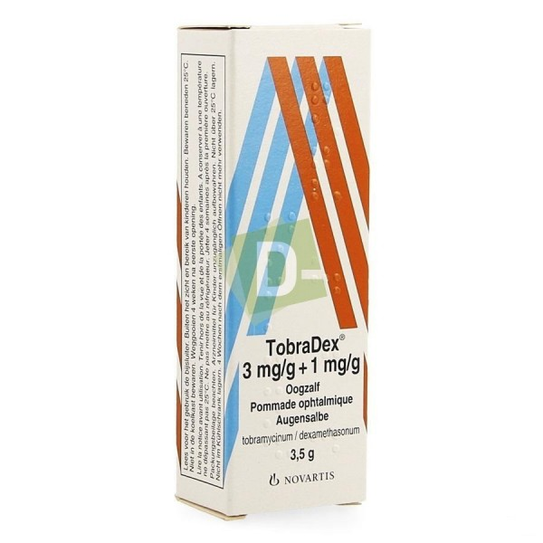 Tobradex 3 mg/g + 1 mg/g x 3.5 g : Pommade Ophtalmogique