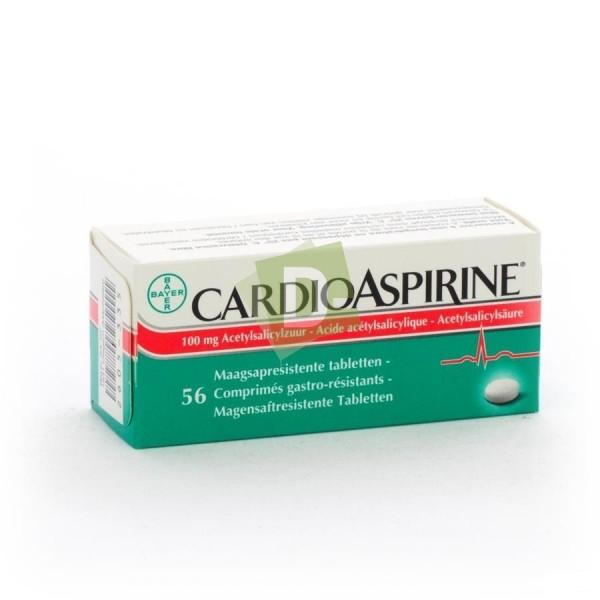 Cardioaspirine 100 mg x 56 Comprimés