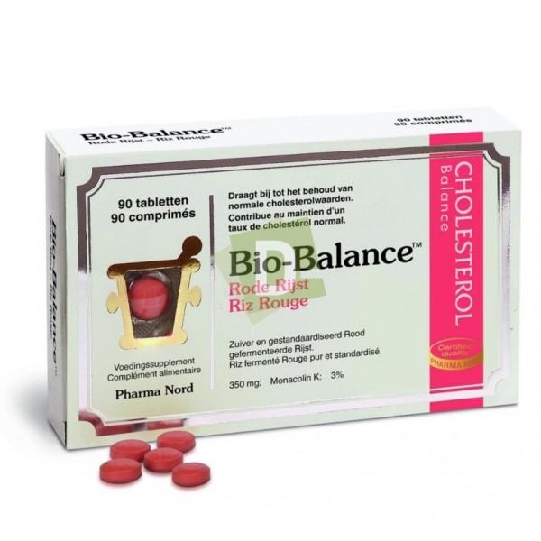 Bio-Balance Rode Rijst 350 mg x 90 comprimés : Extrait de riz rouge pur et standardisé pour un taux de cholestérol normale