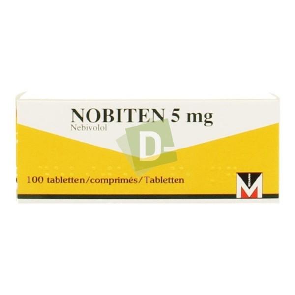 Nobiten 5 mg x 100 Comprimés