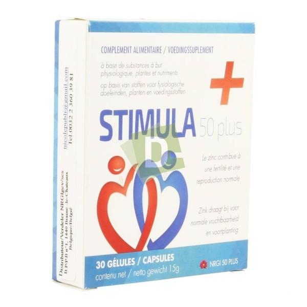 Stimula 50+ x 30 Gélules : Complément alimentaire pour les hommes