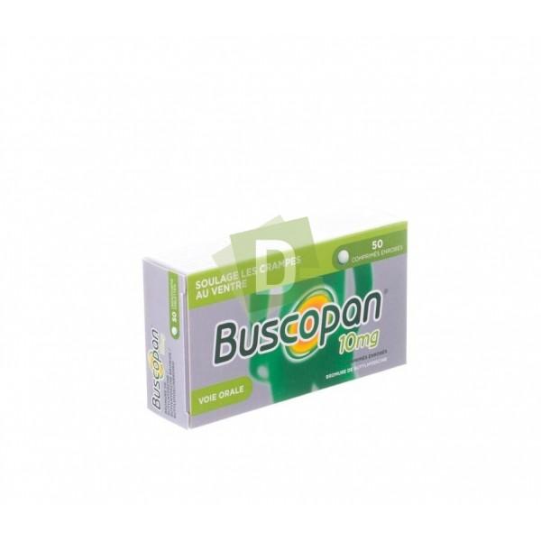 Buscopan 10 mg x 50 Comprimés enrobés : Soulage les crampes au ventre