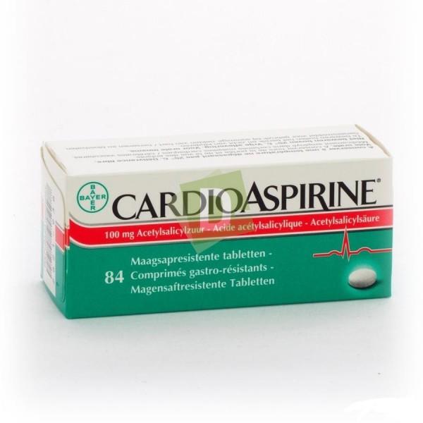 Cardioaspirine 100 mg x 84 Comprimés