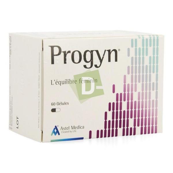 Progyn x 60 Gélules : Complément alimentaire à base de bactéries pour l'équilibre féminin
