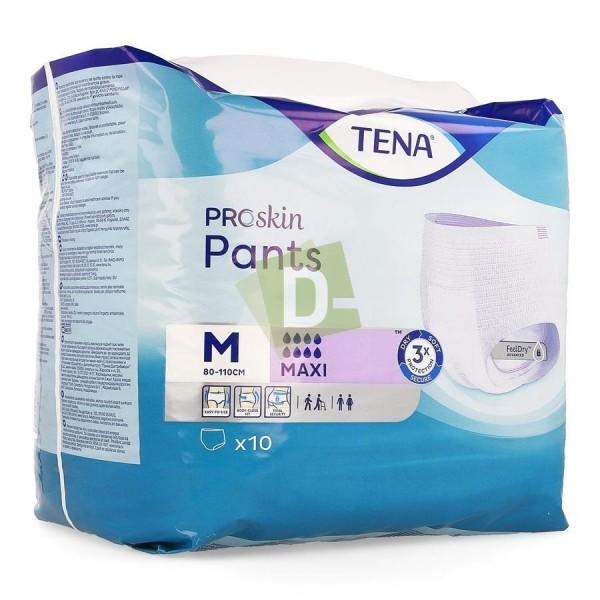 Tena Proskin Pants Maxi M (80 - 110 cm) x 10 Pièces