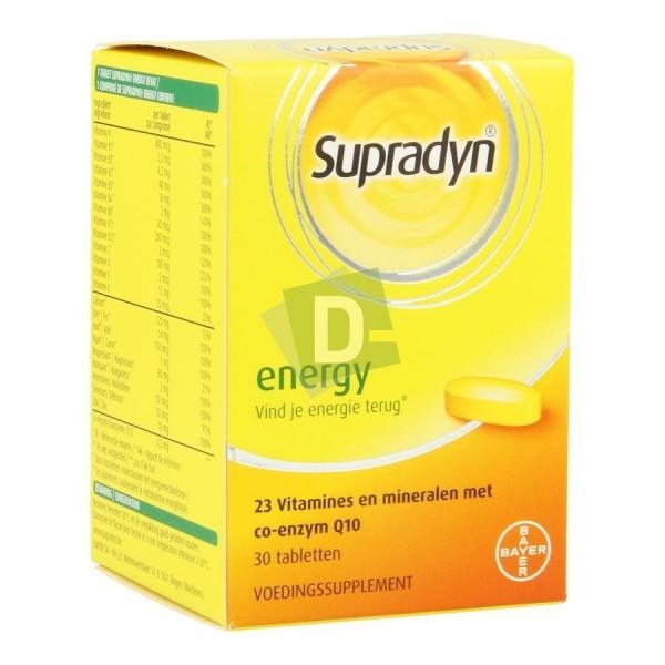 Supradyn Energy Multivitamines x 30 Comprimés