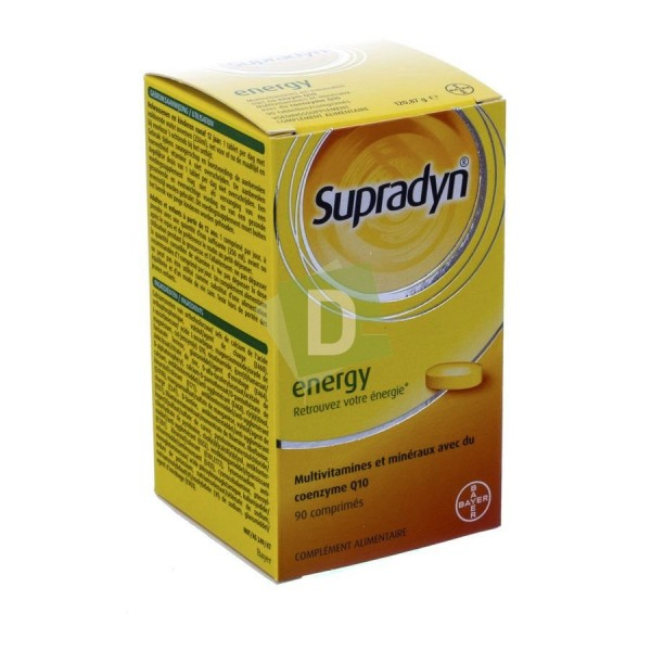 Supradyn Energy Multivitamines x 90 Comprimés