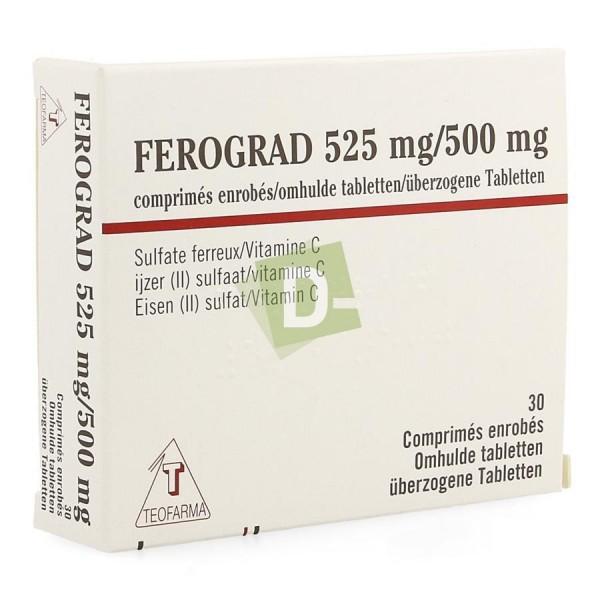 copy of Ferograd 500 mg x 60 Comprimés