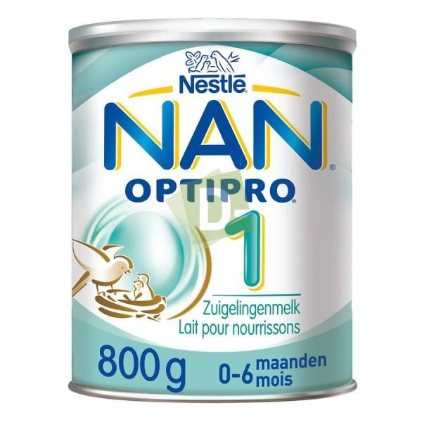 Nan Optipro 1 (0-6 mois) Lait Poudre 800 g