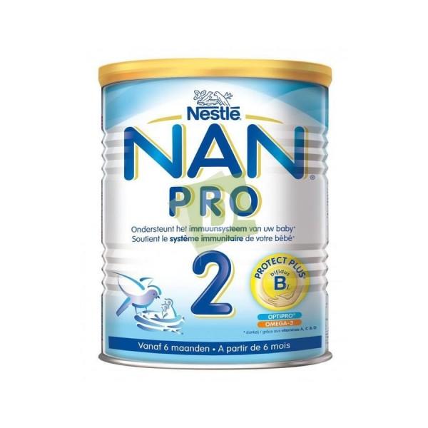Nan Optipro 2 (6-12 mois) Lait Poudre 800 g