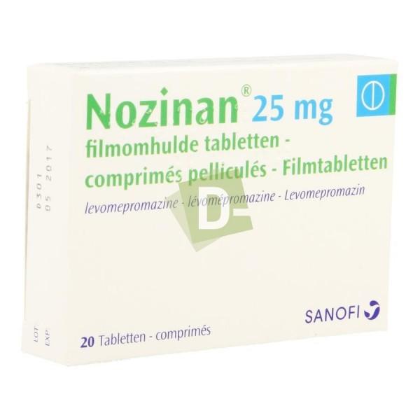 Nozinan 25 mg x 20 Comprimés Pelliculés