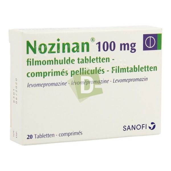 Nozinan 100 mg x 20 Comprimés pelliculés