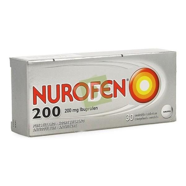 Nurofen (Ibuprofène) 200 mg x 30 Comprimés enrobés