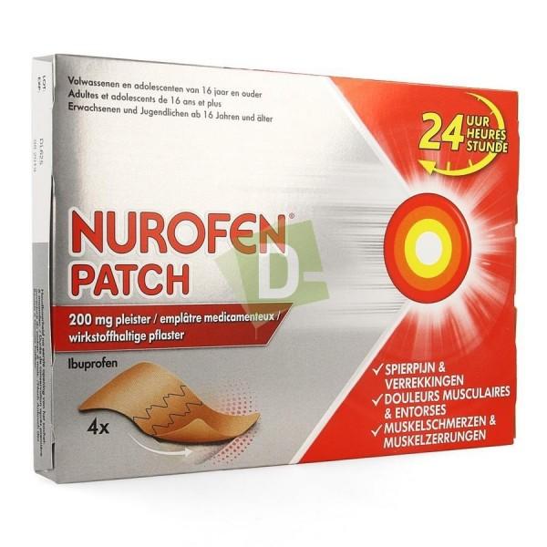 Nurofen (Ibuprofène) Patch 200 mg x 4 Pièces