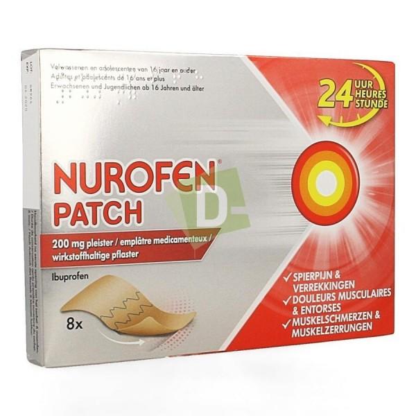 Nurofen (Ibuprofène) Patch 200 mg x 8 Pièces