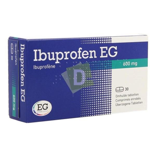 Ibuprofen EG 600 mg x 30 Comprimés enrobés