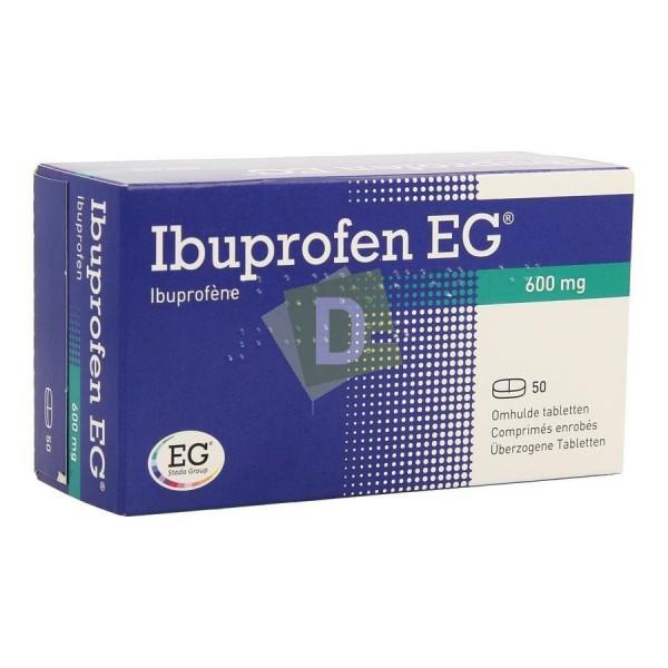 Ibuprofen EG 600 mg x 50 Coated Tablets