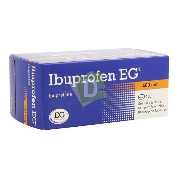 Ibuprofen EG 400 mg x 100 Comprimés enrobés