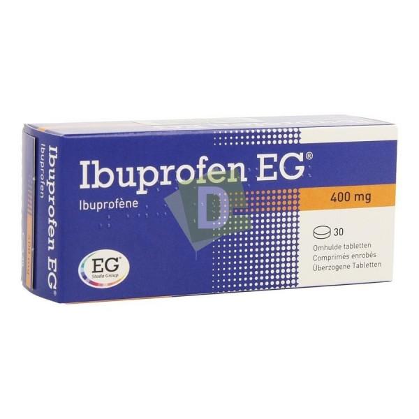 Ibuprofen EG 400 mg x 30 Coated tablets