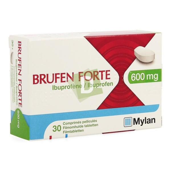 Brufen Forte 600 mg x 30 Coated Tablets