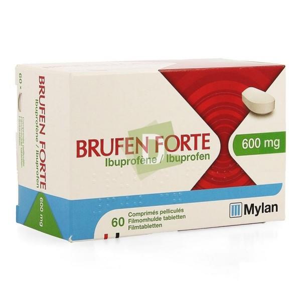 Brufen Forte 600 mg x 60 Comprimés enrobés