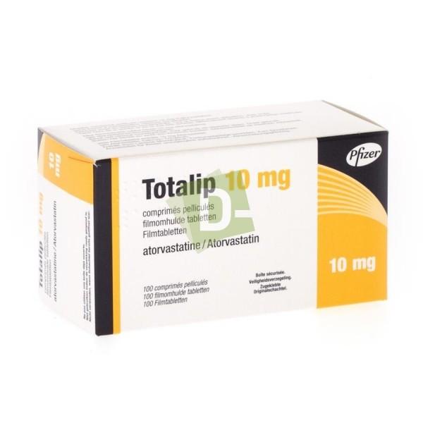 Totalip 10 mg x 100 Comprimés pelliculés