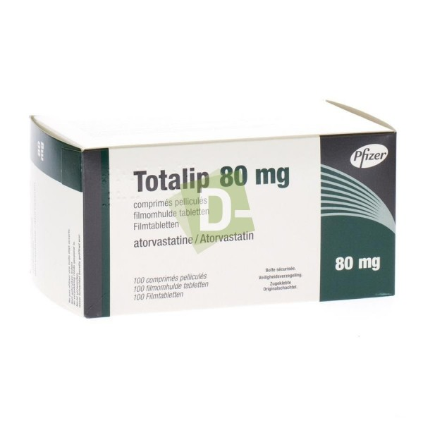 Totalip 80 mg x 100 Tablets