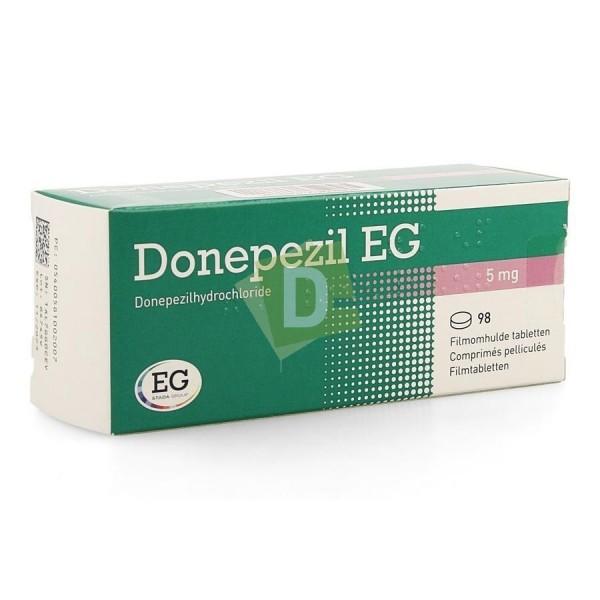 Donepezil EG 5 mg x 98 Comprimés