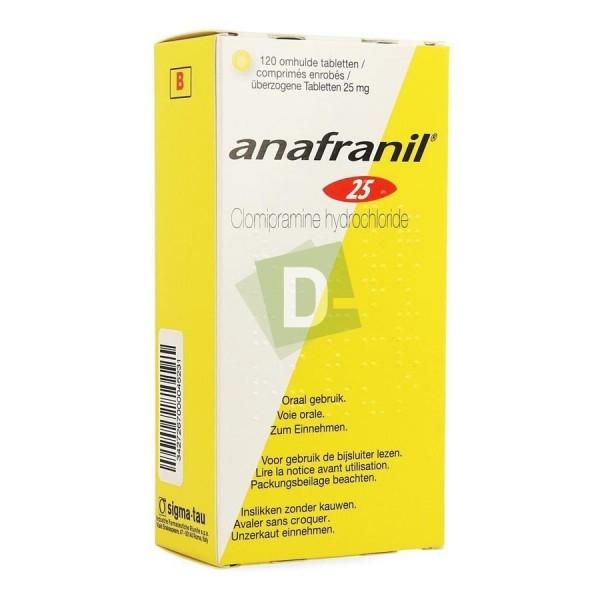 Anafranil 25 mg x 120 Comprimés
