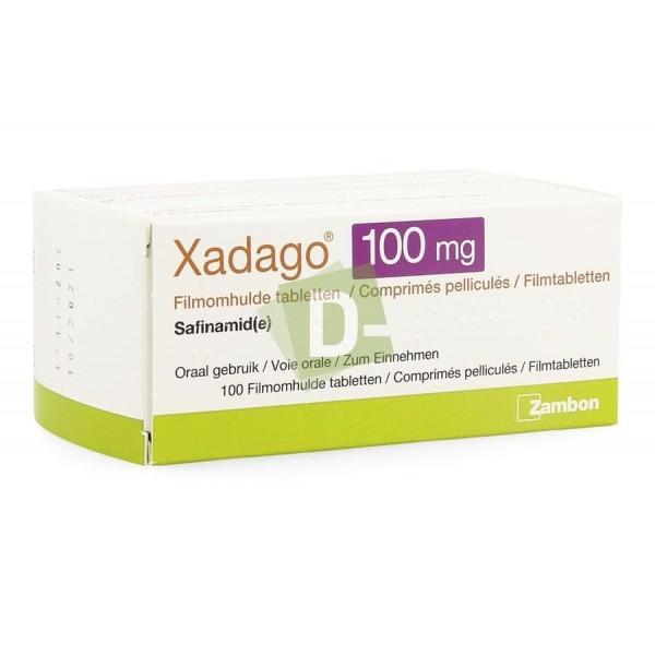 Xadago 100 mg x 100 Filmomhulde tabletten / Comprimés pelliculés