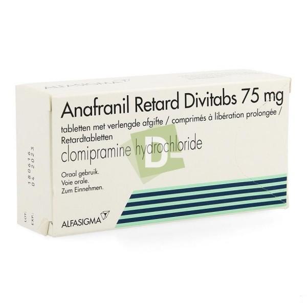 Anafranil Retard Divitabs 75 mg x 42 Tablets